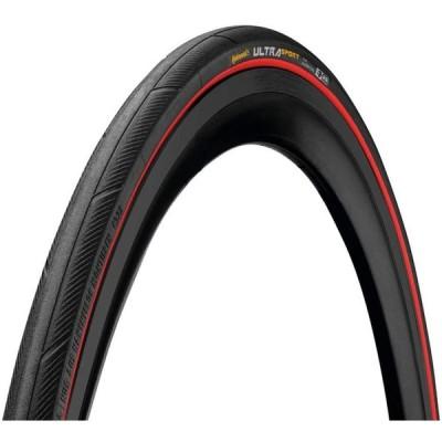 2本セット Continental(コンチネンタル) UltraSport3 ウルトラスポーツ3 クリンチャー 700c (レッド, 700x23c)