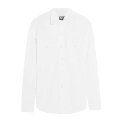 NLST シャツ ホワイト S コットン 100% シャツ