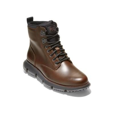 コールハーン メンズ ブーツ・レインブーツ シューズ Men's 4.Zerogrand Wingtip Oxfords Boots