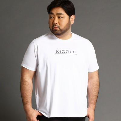 ハイダウェイ HIDEAWAYS <大きいサイズ>ロゴプリントTシャツ (91その他2)