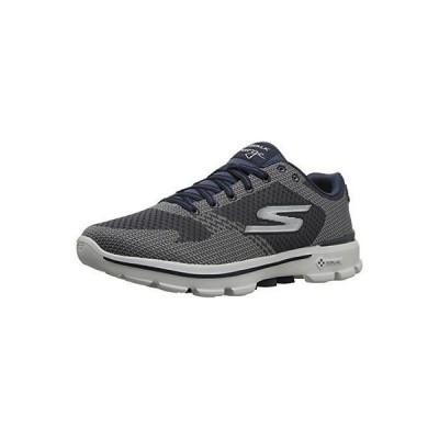 アスレチック スケッチャーズ Skechers Performance 54040 メンズ Go 3-ソーラー Walking シューズ. Charcoal/navy