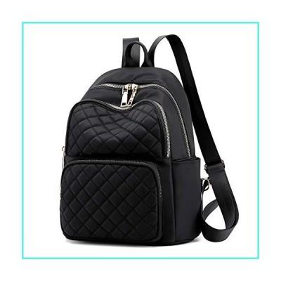 【新品】Fashion Nylon Waterproof Backpak Bag - Top Handle Tote Bag Lightweight Durable Casual Bag Purse Anti-Theft Lightweight Daypack for School,