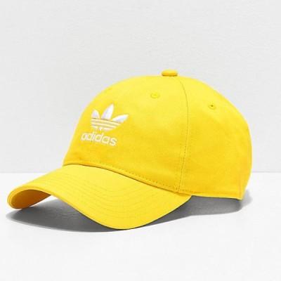 Adidas/アディダス adidas メンズ キャップ ベースボールキャップ イエロー Originals Relaxed Yellow Strapback Hat