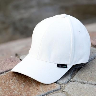 キャップ コットン帽子 最もベーシックでクオリティー高いキャップ ホワイト
