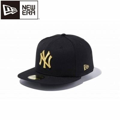 送料無料 定形外発送 即納可☆ 【NEW ERA】ニューエラ キャップ 59FIFTY ニューヨーク・ヤンキース ブラック × ブラック 12336664