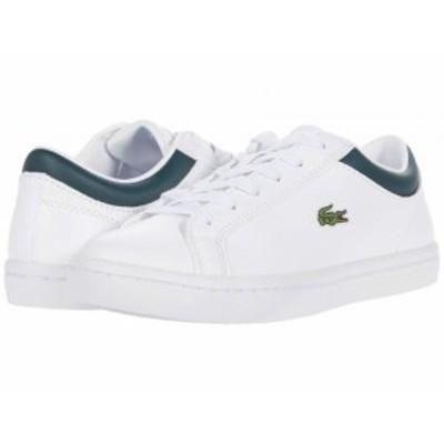 Lacoste ラコステ レディース 女性用 シューズ 靴 スニーカー 運動靴 Straightset 0120 1 White/Dark Green【送料無料】