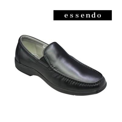 リーガルウォーカー スリッポン ヴァンプモデル ラウンドトゥ RE300W ブラック 3E幅 REGAL メンズ 靴
