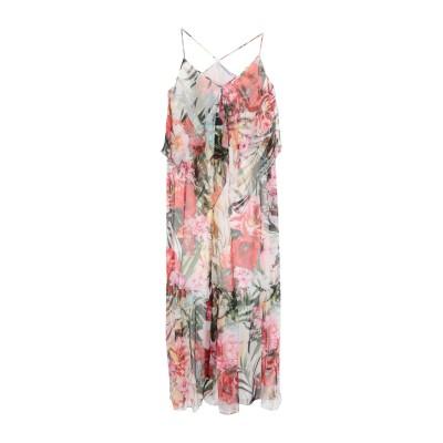 ブルマリン BLUMARINE ロングワンピース&ドレス ホワイト 38 シルク 100% ロングワンピース&ドレス