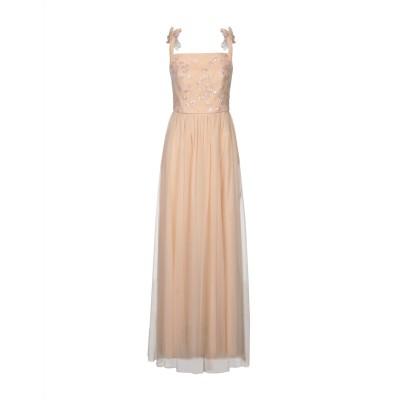 MARELLA ロングワンピース&ドレス ローズピンク 46 ナイロン 100% ロングワンピース&ドレス