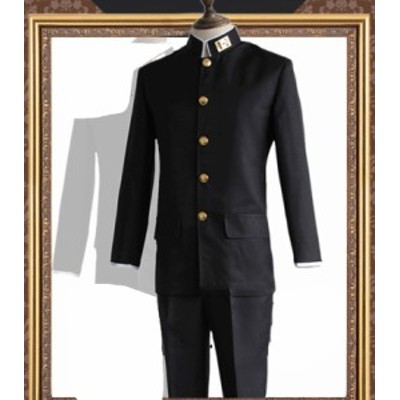 坂本ですが? 男性生徒 制服 コスチューム コスプレ衣装[CRS1296]