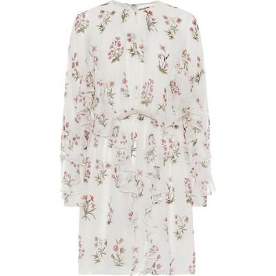 ジャンバティスタ バリ Giambattista Valli レディース ワンピース ワンピース・ドレス Floral silk crepe de chine minidress Ivoire/Fleurs