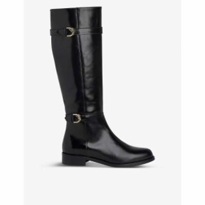 エルケーベネット LK BENNETT レディース ブーツ レザー シューズ・靴 Bryn Knee-High Leather Boots BLA BLACK