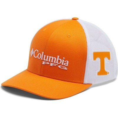 コロンビア Columbia メンズ キャップ 帽子 Tennessee Volunteers Tennessee Orange PFG Mesh Fitted Hat