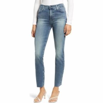エージー AG レディース ジーンズ・デニム ボトムス・パンツ Mari High Waist Ankle Slim Straight Leg Jeans Navigate