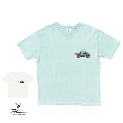 【SALE】Jonas Claesson(ジョナス・クレアッソン) 【S/S】SOLO MISSION T-Shirt WHT SAX