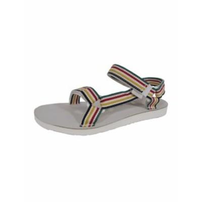 Teva テバ ファッション サンダル Teva Womens Original Universal-Hudsons Bay Sandals Shoes White US 10