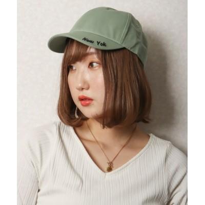 FUNALIVE / 【je crois soi】ロゴ刺繍 カーブキャップ WOMEN 帽子 > キャップ