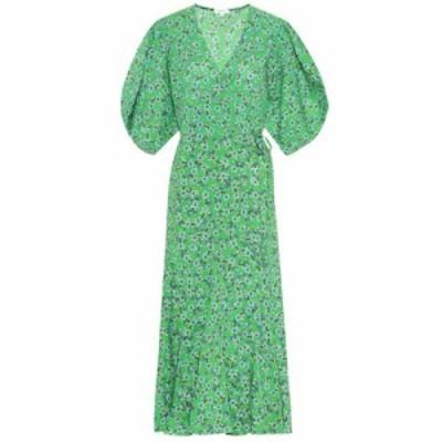 ロードリゾート RHODE レディース ワンピース ワンピース・ドレス Fiona floral cotton wrap dress Turq Ditsy Floral