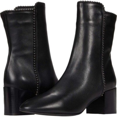 アクアタリア Aquatalia レディース ブーツ シューズ・靴 Faustina Black Calf