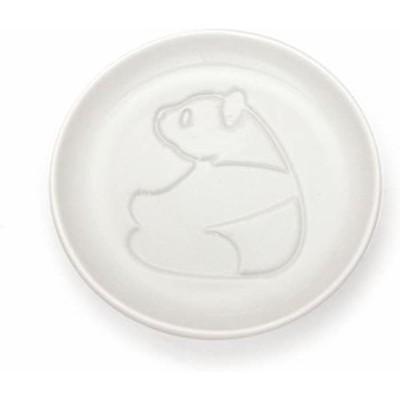 アルタ かわいい パンダ醤油皿 (みあげる) 浮き出る 小皿 陶器 パンダ雑貨 AR0604218