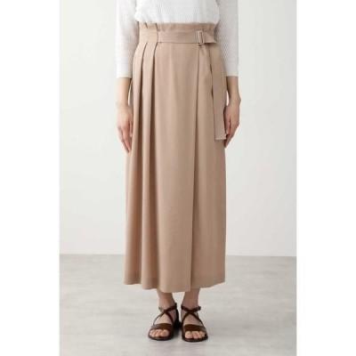 HUMAN WOMAN / ヒューマンウーマン ◆ウォッシュサテンスカート≪Rue dieu a la HUMAN WOMAN≫
