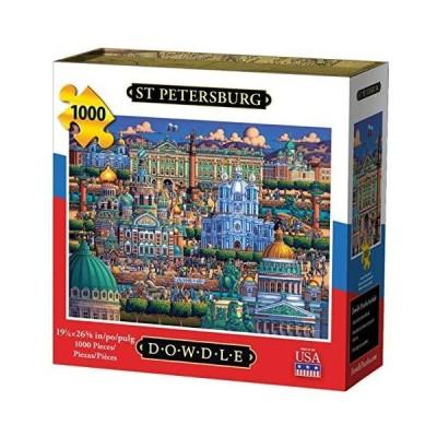 St Petersburg 1000 Piece Jigsaw Puzzle by Dowdle Folk Art