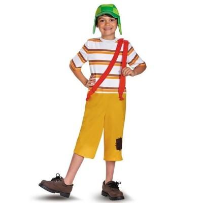 コスプレ 子供 衣装 男の子 人気 エル・チャボ・デル・オチョ DX コスチューム 8のチャボ メキシコ ドラマ パーティー 宴会 衣劇 ハロウィン