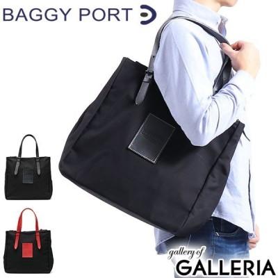 バギーポート トートバッグ BAGGY PORT バッグ トート ファスナー付き A4 台形 鞄 BLACK 革 本革 通勤 ビジネス ブランド メンズ レディース YNM-410N