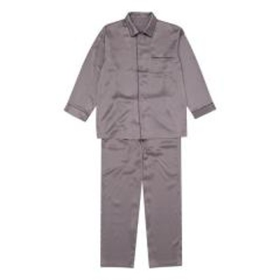 睡眠科学15%OFF【送料無料】 (ワコール)Wacoal 睡眠科学 シルクサテン メンズ シャツパジャマ シルク100% 絹 紳士用