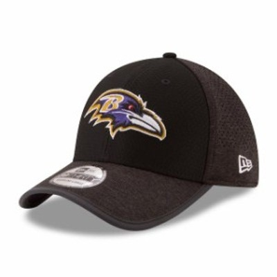 New Era ニュー エラ スポーツ用品  New Era Baltimore Ravens Black 2017 Training Camp Official 39THIRTY Flex Hat
