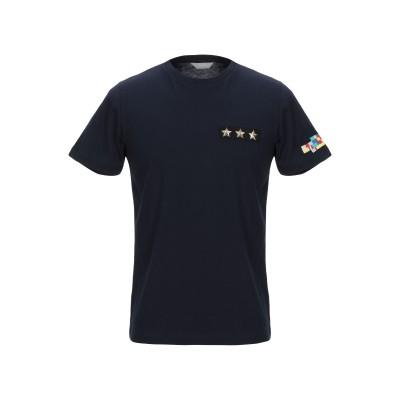 SSEINSE T シャツ ブルー S コットン 100% T シャツ