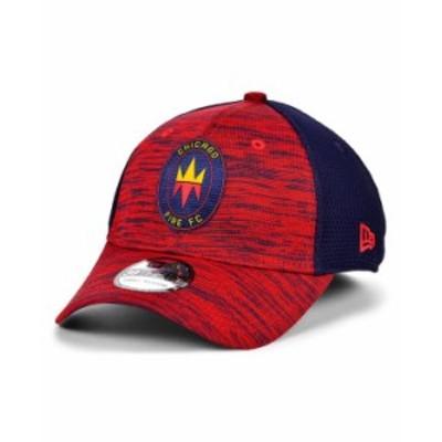 ニューエラ メンズ 帽子 アクセサリー Chicago Fire 2020 On-field 39THIRTY Cap Red