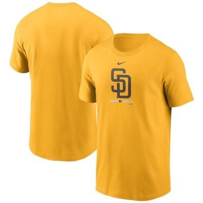 ナイキ メンズ San Diego Padres Nike Legacy T-Shirt Tシャツ 半袖 Gold