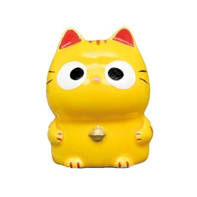 ぱっちりおめめ招き猫とら(貯金箱)