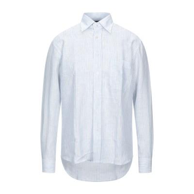 ADDICTION シャツ アジュールブルー 39 リネン 100% シャツ