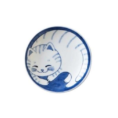 軽量 薄手 小皿 10cm/ ねこちぐら 3.0皿 トラ /猫 ネコ 可愛い 家庭用 和み 癒やし ポイント消化