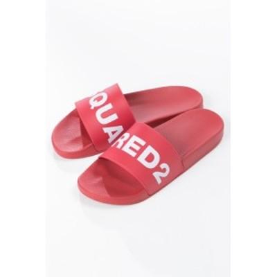 ディースクエアード DSQUARED2 シャワーサンダル レッド メンズ (FFM010117200001) 送料無料 目玉商品