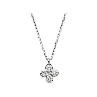 [VAヴァンドーム青山] VA VENDOME AOYAMA プラチナ PT900 ダイヤモンド 0.11ct サンファンブラン ネックレス