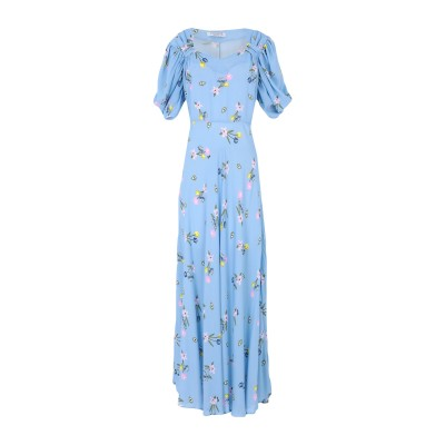 VIVETTA ロングワンピース&ドレス スカイブルー 40 レーヨン 100% ロングワンピース&ドレス