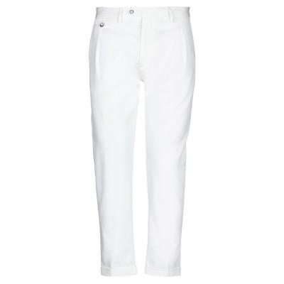 OFFICINA 36 パンツ ホワイト 48 コットン 98% / ポリウレタン 2% パンツ