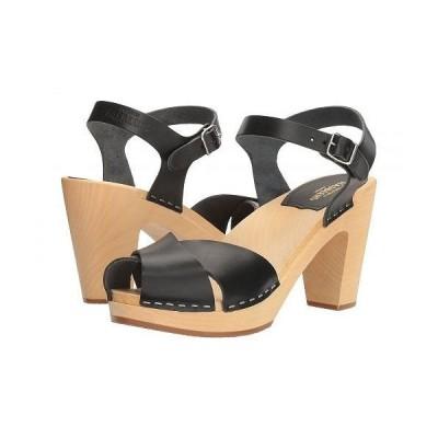 Swedish Hasbeens スウェディッシュハズビーンズ レディース 女性用 シューズ 靴 ヒール Merci Sandal - Black
