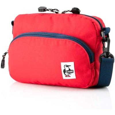 チャムス ショルダーバッグ タウン用 メンズ レディース ナイロン CHUMS CH60-2525 (Red, Free)
