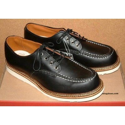 USA製 【RED WING レッドウィング】 # 8106 オックスフォード シューズ (ブラック) 黒 ブーツ 革靴 ワークブーツ メンズ アイリッシュセッター レザー モカシン