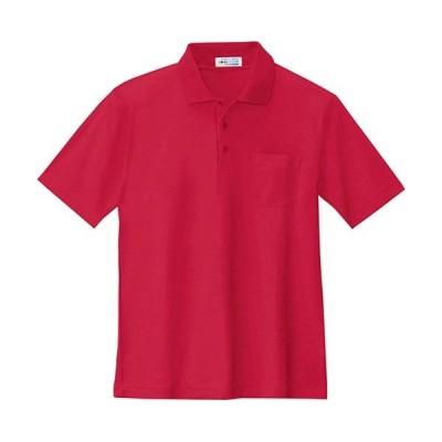 ジーベック(XEBEC) 半袖ポロシャツ 70/エンジ 6100 作業服 作業着 ワークウエア ワークウェア メンズ レディース