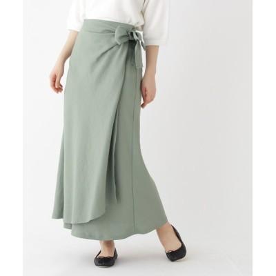 DRESSTERIOR / ラップフレアースカート WOMEN スカート > スカート