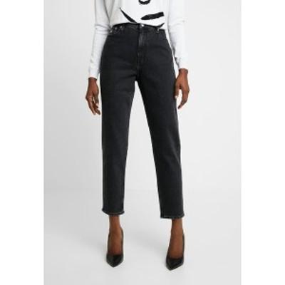 カルバンクライン レディース デニムパンツ ボトムス MOM - Relaxed fit jeans - black black