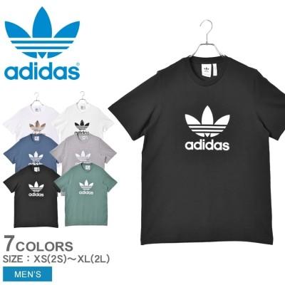 アディダス オリジナルス ADIDAS ORIGINALS 半袖Tシャツ トレフォイル半袖Tシャツ TREFOIL T-SHIRT メンズ ウエア Tシャツ トップス ロゴ シンプル スポーティ