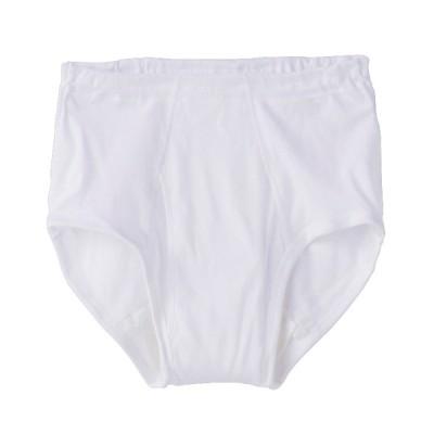 グンゼ株式会社 メンズ 紳士 愛情らくらく 着替えらくらく肌着 天引ブリーフ ホワイト L