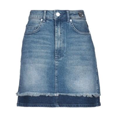 VERSACE JEANS デニムスカート ブルー 40 コットン 99% / ポリウレタン 1% デニムスカート