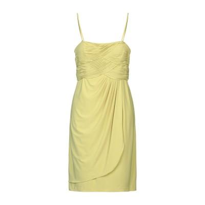 CLIPS ミニワンピース&ドレス イエロー 48 ポリエステル 92% / ポリウレタン 8% ミニワンピース&ドレス